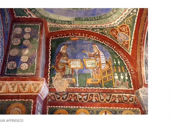 Affresco sugli Elementi, Cattedrale di Anagni