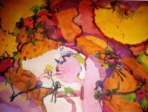 Midnight Oniric Painting 2.2012