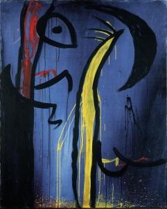 Senza titolo - n.d. - Acrilico su tela, 162,5 x 130,5 cm Fundació Pilar i Joan Miró, Mallorca - Fonte WEB